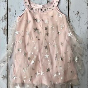 BISCOTTI TODDLER GIRL STARRY EYED DRESS